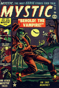 Cover Thumbnail for Mystic (Marvel, 1951 series) #17