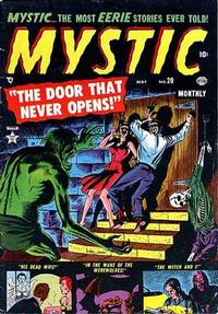 Cover Thumbnail for Mystic (Marvel, 1951 series) #20