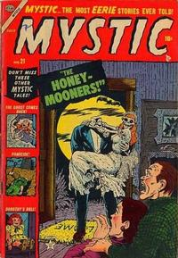 Cover Thumbnail for Mystic (Marvel, 1951 series) #21