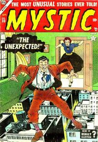 Cover Thumbnail for Mystic (Marvel, 1951 series) #33