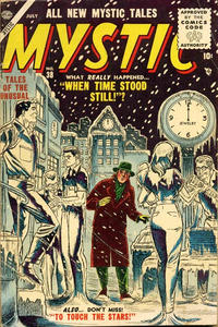 Cover Thumbnail for Mystic (Marvel, 1951 series) #38