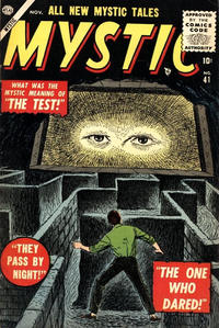 Cover Thumbnail for Mystic (Marvel, 1951 series) #41