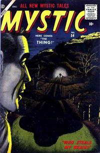 Cover Thumbnail for Mystic (Marvel, 1951 series) #54
