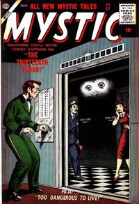Cover Thumbnail for Mystic (Marvel, 1951 series) #61