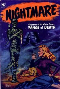 Cover Thumbnail for Nightmare (St. John, 1953 series) #11
