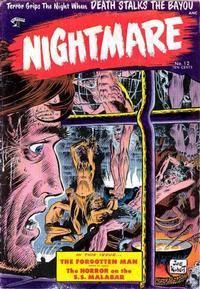 Cover Thumbnail for Nightmare (St. John, 1953 series) #12