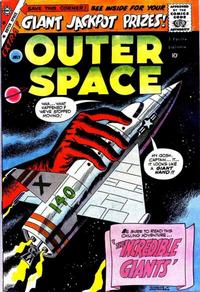 Cover Thumbnail for Outer Space (Charlton, 1958 series) #23