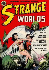 Cover Thumbnail for Strange Worlds (Avon, 1950 series) #1
