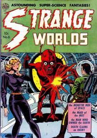 Cover Thumbnail for Strange Worlds (Avon, 1950 series) #6