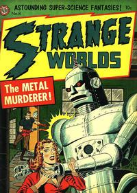 Cover Thumbnail for Strange Worlds (Avon, 1950 series) #8