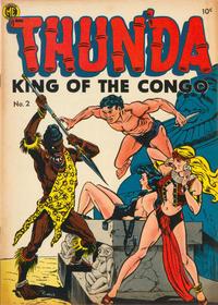 Cover Thumbnail for Thun'da, King of the Congo (Magazine Enterprises, 1952 series) #2