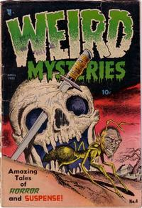 Cover Thumbnail for Weird Mysteries (Stanley Morse, 1952 series) #4
