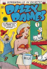 Cover for Dizzy Dames (American Comics Group, 1952 series) #4