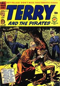 Cover Thumbnail for Terry and the Pirates Comics (Harvey, 1947 series) #26