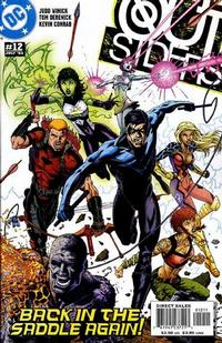 Cover Thumbnail for Outsiders (DC, 2003 series) #12