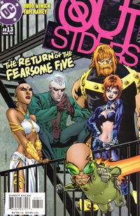 Cover Thumbnail for Outsiders (DC, 2003 series) #13