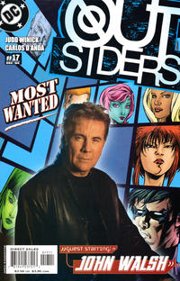 Cover for Outsiders (DC, 2003 series) #17