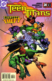 Cover Thumbnail for Teen Titans (DC, 2003 series) #20 [Direct Sales]