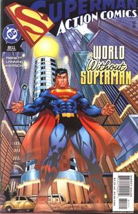 Cover Thumbnail for Action Comics (DC, 1938 series) #811 [Direct Sales]