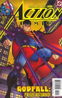 Cover Thumbnail for Action Comics (DC, 1938 series) #821