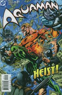 Cover for Aquaman (DC, 2003 series) #21