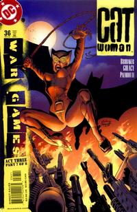 Cover Thumbnail for Catwoman (DC, 2002 series) #36 [Direct Sales]