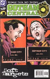 Cover Thumbnail for Gotham Central (DC, 2003 series) #15