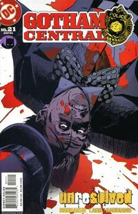 Cover Thumbnail for Gotham Central (DC, 2003 series) #21