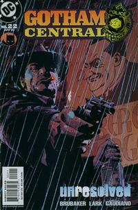 Cover Thumbnail for Gotham Central (DC, 2003 series) #22