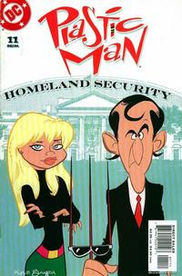 Cover Thumbnail for Plastic Man (DC, 2004 series) #11