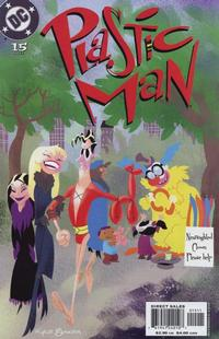 Cover Thumbnail for Plastic Man (DC, 2004 series) #15