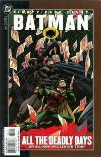 Cover Thumbnail for Batman 80-Page Giant (DC, 1998 series) #3