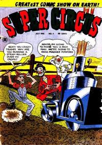 Cover Thumbnail for Super Circus (Cross, 1951 series) #4
