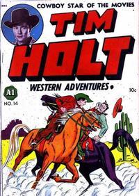 Cover Thumbnail for Tim Holt (Magazine Enterprises, 1948 series) #1 [A-1 #14]