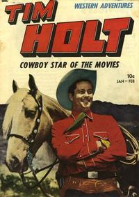 Cover Thumbnail for Tim Holt (Magazine Enterprises, 1948 series) #4
