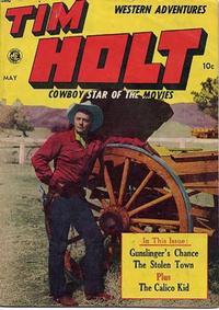 Cover Thumbnail for Tim Holt (Magazine Enterprises, 1948 series) #6