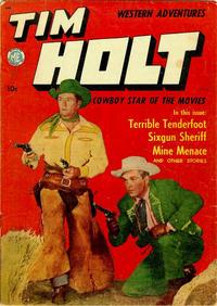 Cover for Tim Holt (Magazine Enterprises, 1948 series) #9