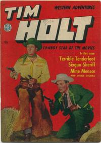 Cover Thumbnail for Tim Holt (Magazine Enterprises, 1948 series) #9