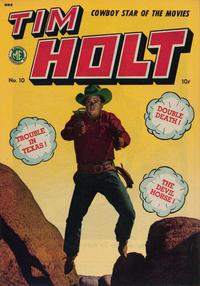 Cover Thumbnail for Tim Holt (Magazine Enterprises, 1948 series) #10