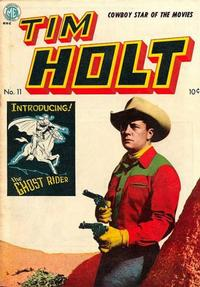 Cover Thumbnail for Tim Holt (Magazine Enterprises, 1948 series) #11