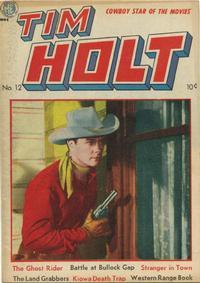 Cover Thumbnail for Tim Holt (Magazine Enterprises, 1948 series) #12