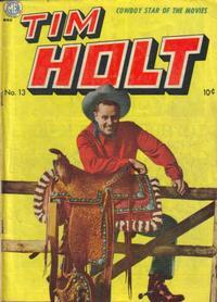 Cover Thumbnail for Tim Holt (Magazine Enterprises, 1948 series) #13