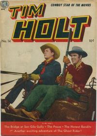 Cover Thumbnail for Tim Holt (Magazine Enterprises, 1948 series) #14