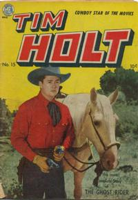 Cover Thumbnail for Tim Holt (Magazine Enterprises, 1948 series) #15