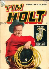 Cover Thumbnail for Tim Holt (Magazine Enterprises, 1948 series) #16