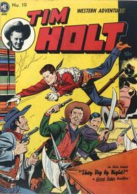 Cover Thumbnail for Tim Holt (Magazine Enterprises, 1948 series) #19