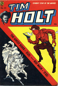 Cover Thumbnail for Tim Holt (Magazine Enterprises, 1948 series) #21