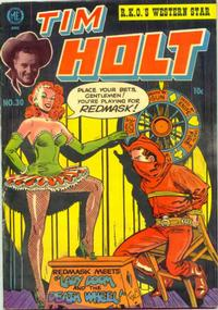 Cover Thumbnail for Tim Holt (Magazine Enterprises, 1948 series) #30