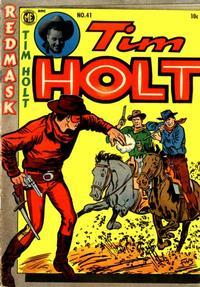 Cover Thumbnail for Tim Holt (Magazine Enterprises, 1948 series) #41