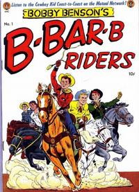Cover Thumbnail for Bobby Benson's B-Bar-B Riders (Magazine Enterprises, 1950 series) #1